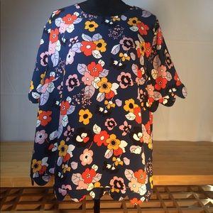 Victoria Beckham Target Floral Top